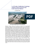Weather Modification Technology and the Destabilization of the Mid Western United States
