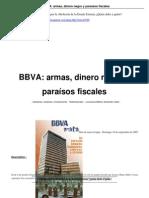 BBV Armas Dinero y Paraisos Fiscales