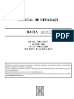 Manual service (reparatii) Dacia Solenza