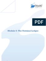 Module 5 - Nominal Ledger v7.0