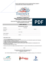 Application for Trident Challenge 2011