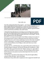 LID 22 Troops Prepare for War In Karen State