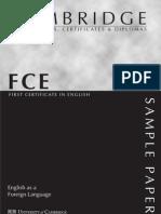 FCE Reading