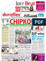 Bangalore Beat Evening Newspaper - 29.06