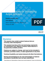 Best Practices for Virtualizing Active Directory