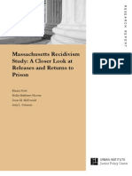 SOLOMON Massachusetts Recidivism Study