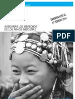 UNICEF Asegurar derechos de niños indigenas INOCCENTI DIGESTI