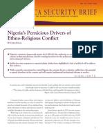 Nigeria's Pernicious Drivers of Ethno-Religious Conflict