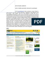Relatório de conclusão de disciplina Arquitetura da Informação