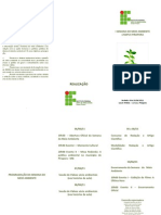 Folder Semana Meio Ambiente