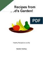 101 Recipes From God's Garden
