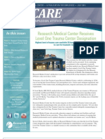 CARE Newsletter - July 2011