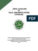 Halal Assurance System Guidebook