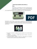 Uso Del Espectro Spectronic 21