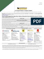 STFC - Public Issue of NCDs - Final Prospectus - JSA - June 16 2011 -1