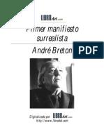 Andre Breton - Primer Manifiesto Surrealist A