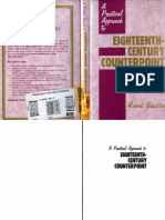 5052515 Robert Gauldin a Practical Approach to Eighteenth Century Counterpoint