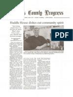 Huddle House Pickens County Progress 06 16 11