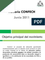 Petitorio CONFECh Junio 2011