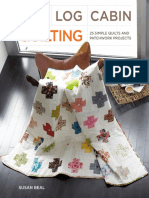 Block Pocket Apron from Modern Log Cabin Quilting by Susan Beal