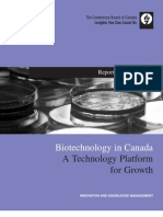 115 06 Biotechnology in Canada