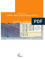 CATIA - Mold Tooling Design 2 (MTD)