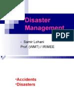 Disaster Management PWMT