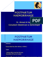 Postpartum Haemorrhage