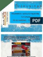 PALESTRA TUC -Sedimentador y ExpoComunidad Jun2011