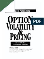 Natenberg - Option Pricing and Volatility[1]