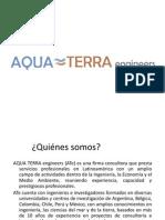 modelación aguas AQUA TERRA engineers