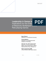 Leadership in Games Seriosity and IBM