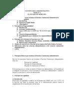 CA Tema 1 Constencioso Administrativo