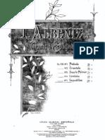 Albeniz - Seguidillas Op 232 No 5