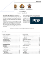 X-type Drivers Handbook