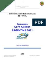to Copa America Argentina 2011