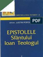 Arhim. Justin Popovici - Epistolele Sfantului Ioan Teologul
