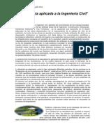 El Ingeniero Civil y La Conservacion Con El Medio Ambiente