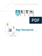 UTSSignStandards
