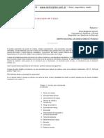 Ergonomía - Método del análisis ergonómico del puesto de trabajo