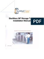 Installation Manual - StorMaxx NP Storage Tanks