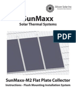 SunMaxx TitanPower-AL2 Flush Mounting Instructions