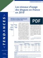 Tendances 76 - Baromètre santé 2010 - Drogues