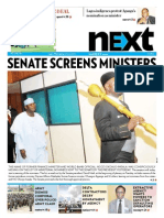 Senate screens ministers