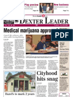 The Dexter Leader Front Page June 30, 2011