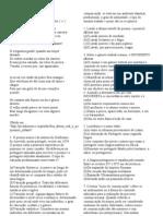 SIMULADO DE PORTUGUÊS