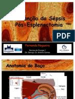 Prevenção da sépsis pós-esplenectomia