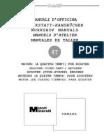 Multi Language] Yamaha 250cc SOHC 4T Engine Manual (Majesty250,Leonardo250,Madison250,Kouranos250) by Star