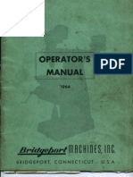 Bridge Port Operators Manual
