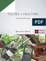 Technology in Global Health  (Josh Nesbit)